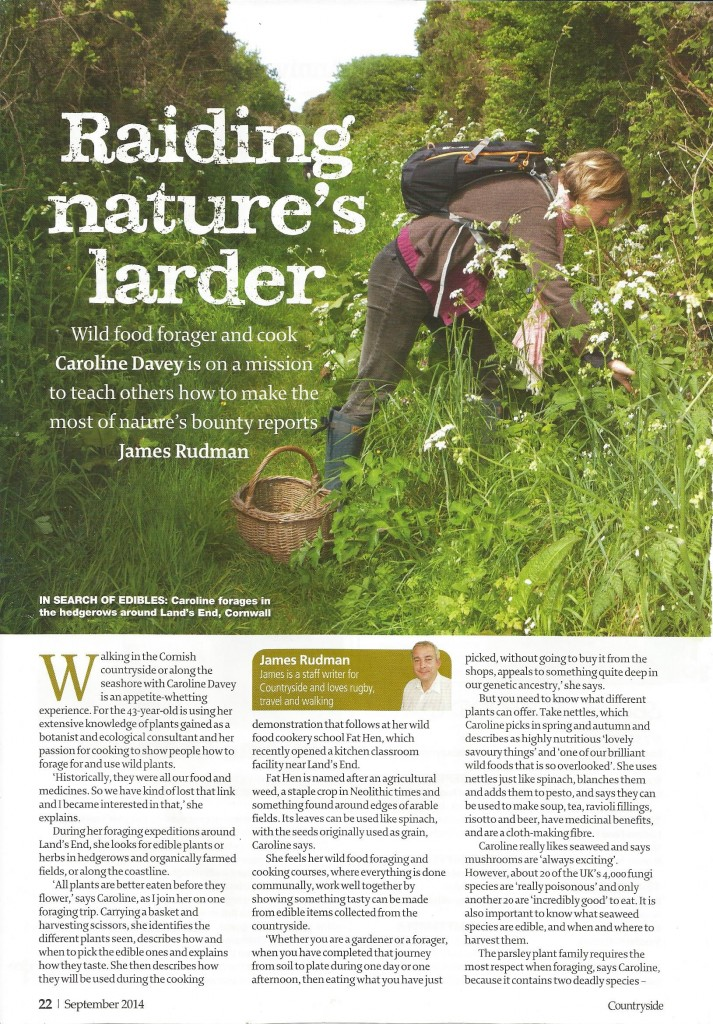 Countryside Mag Sept 2014
