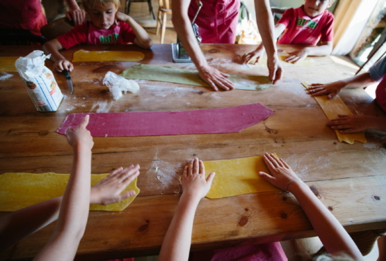 Childrens' Cookery Course at Fat Hen – Pasta making
