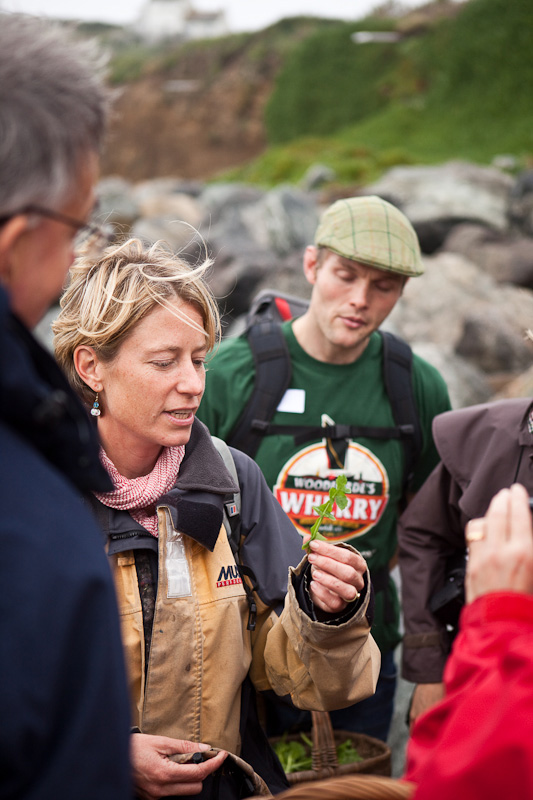 wild food gathering cornwall