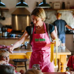 Childrens' Cookery Course at Fat Hen - Pasta making